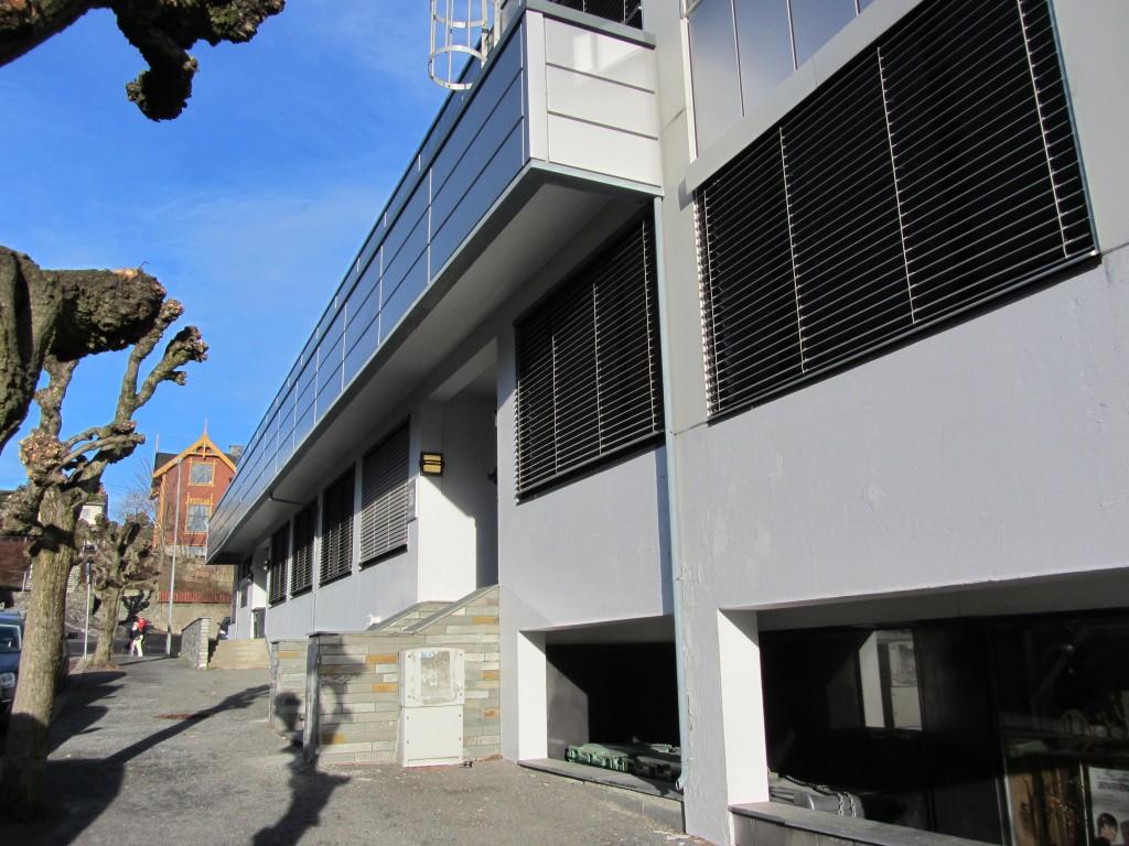 Clarksgt 5, fasade mot syd