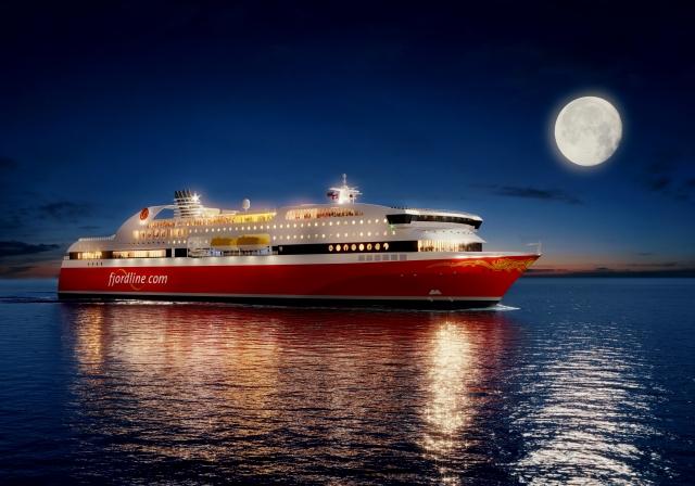 Fjord Lines setter inn to cruiseferger som daglig skal anløpe Langesund