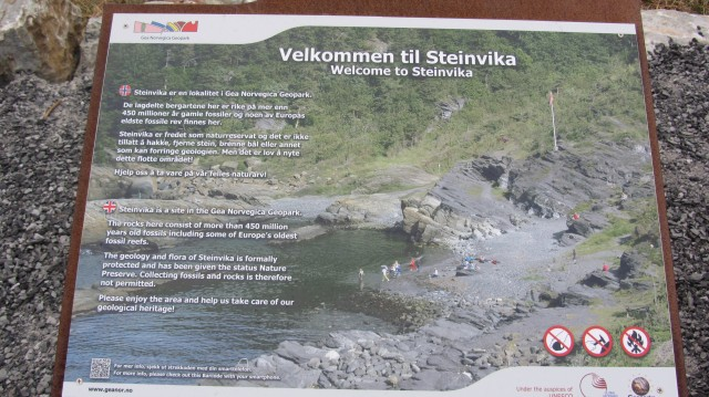 Introduksjonstavle Steinvika