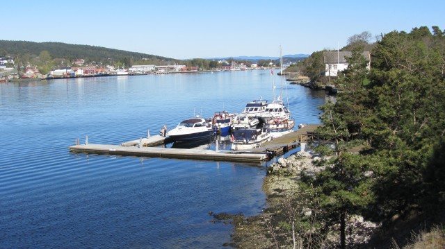 Gjestebryggene på Langøya