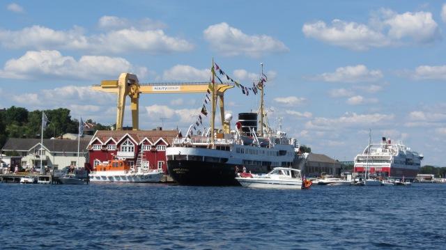 Nordstjernen, Krana og Bergensfjord - 2014