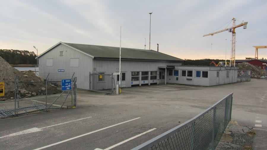Det gamle terminalbygg