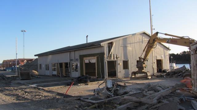 Gamle terminalbygg 6.4.2012