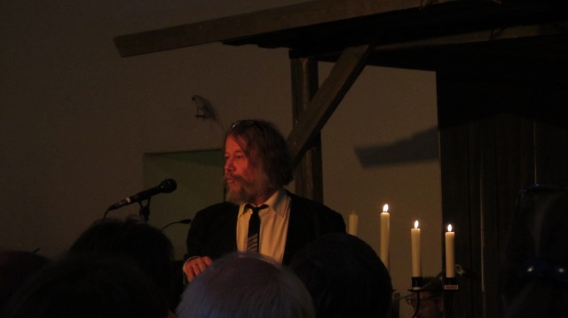 Gunnar Aasbø, dirigent for både  Langesund Mandssangforening og Langesund Damekor