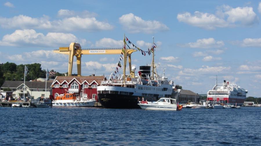Nordstjernen, Krana og Bergensfjord