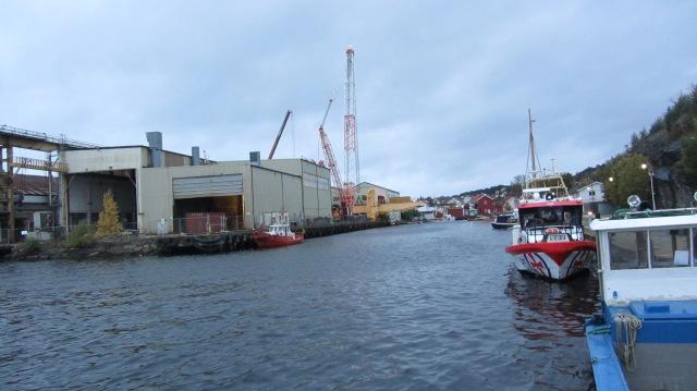 Ikke en gang Redningsskøyta kunne redde krana i Langesund