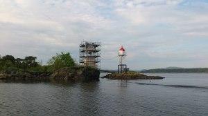 Klokketårnet på Figgeskjær restaureres 2013