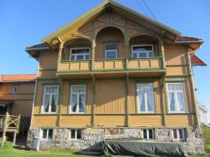 Skougaards hus, fasade syd