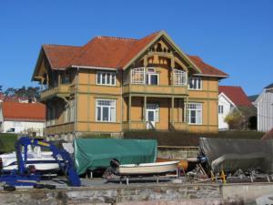 kougaards hus, fasade øst