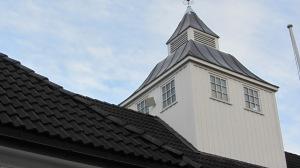 Langesund Bad hovedgård, tårnet, fra sydøst