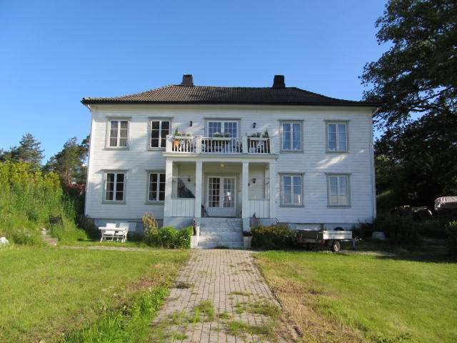 Det opprinnelige  Fagerheim hovedhus
