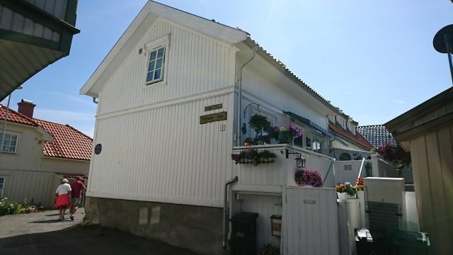Strandgt 1, Redningsmann Oluf Hansens hus